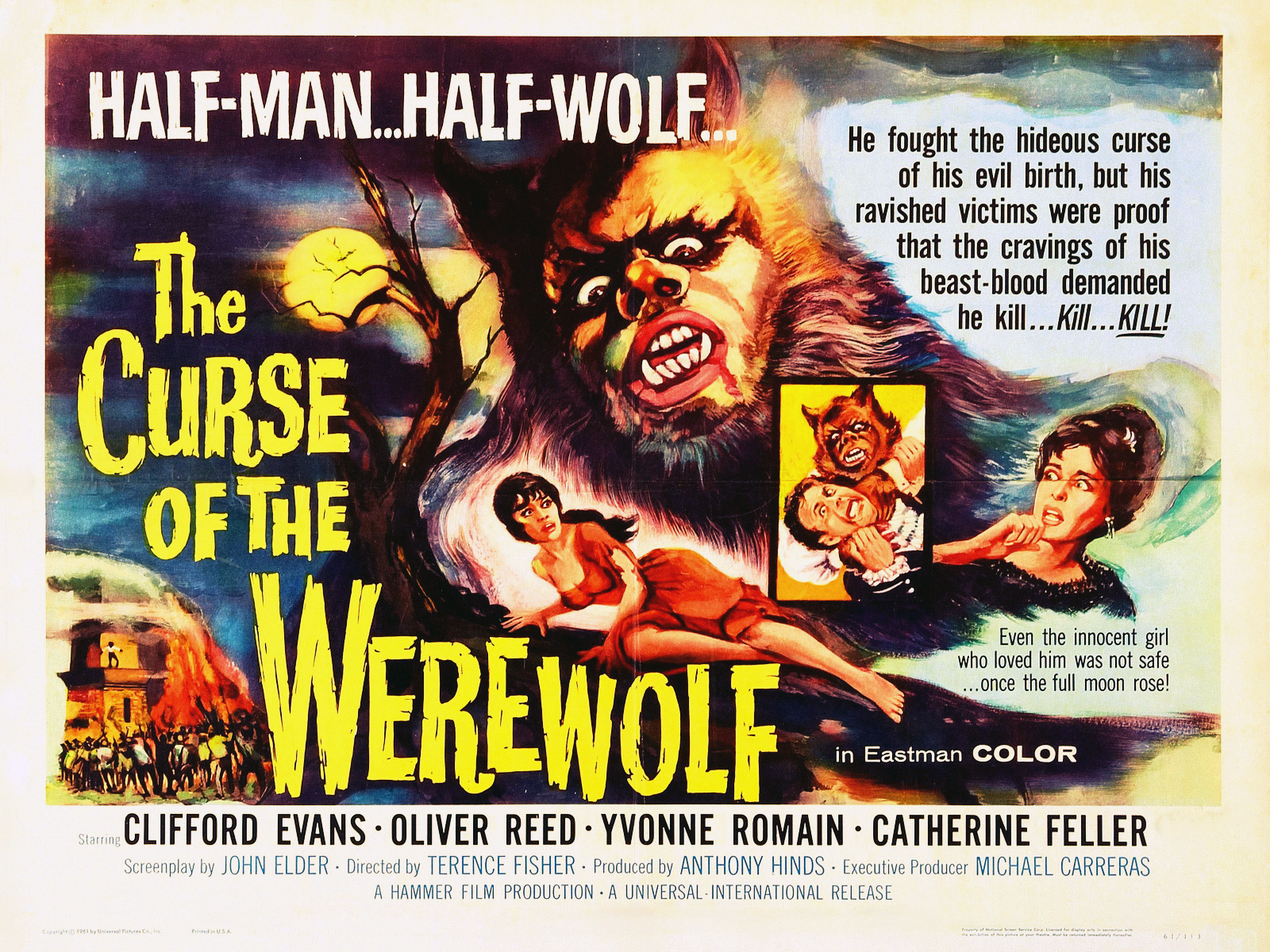 curse of the werewolf hammer