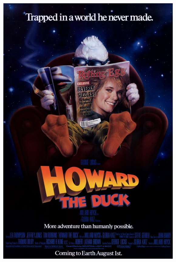 howard duck poster