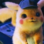 Pikachu looks happy in the the movie Pokemon Detective Pikachu