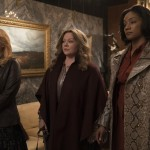 Elisabeth Moss, Melissa McCarthy, and Tiffany Haddish are ready for business in the movie The Kitchen