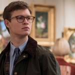 Ansel Elgort looking bookish in the movie The Goldfinch