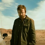 Aaron Paul looks rough around the edges in the movie El Camino