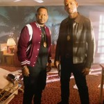 Martin Lawrence stands next to Will Smith in Bad Boys for Life