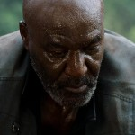 Delroy Lindo looks sweaty and tired in the movie Da 5 Bloods
