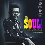The poster for the documentary Mr. Soul!