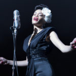 Andra Day sings passionately as Billie Holiday in the film The United States vs Billie Holiday